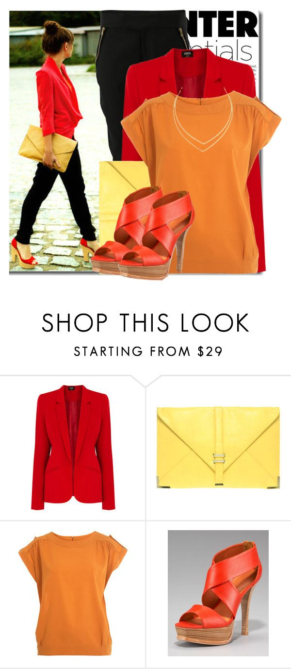 """""""485."""" by claudisca ❤ liked on Polyvore featuring Oris, Oasis, ASOS, Miss Selfridge, Pour La Victoire and Lana"""
