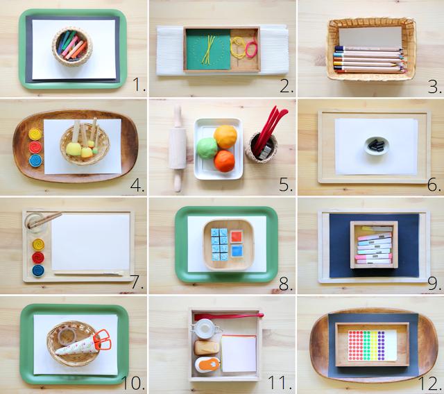 Elternvommars montessori art materials for 3 1 2 years for Raumgestaltung nach montessori