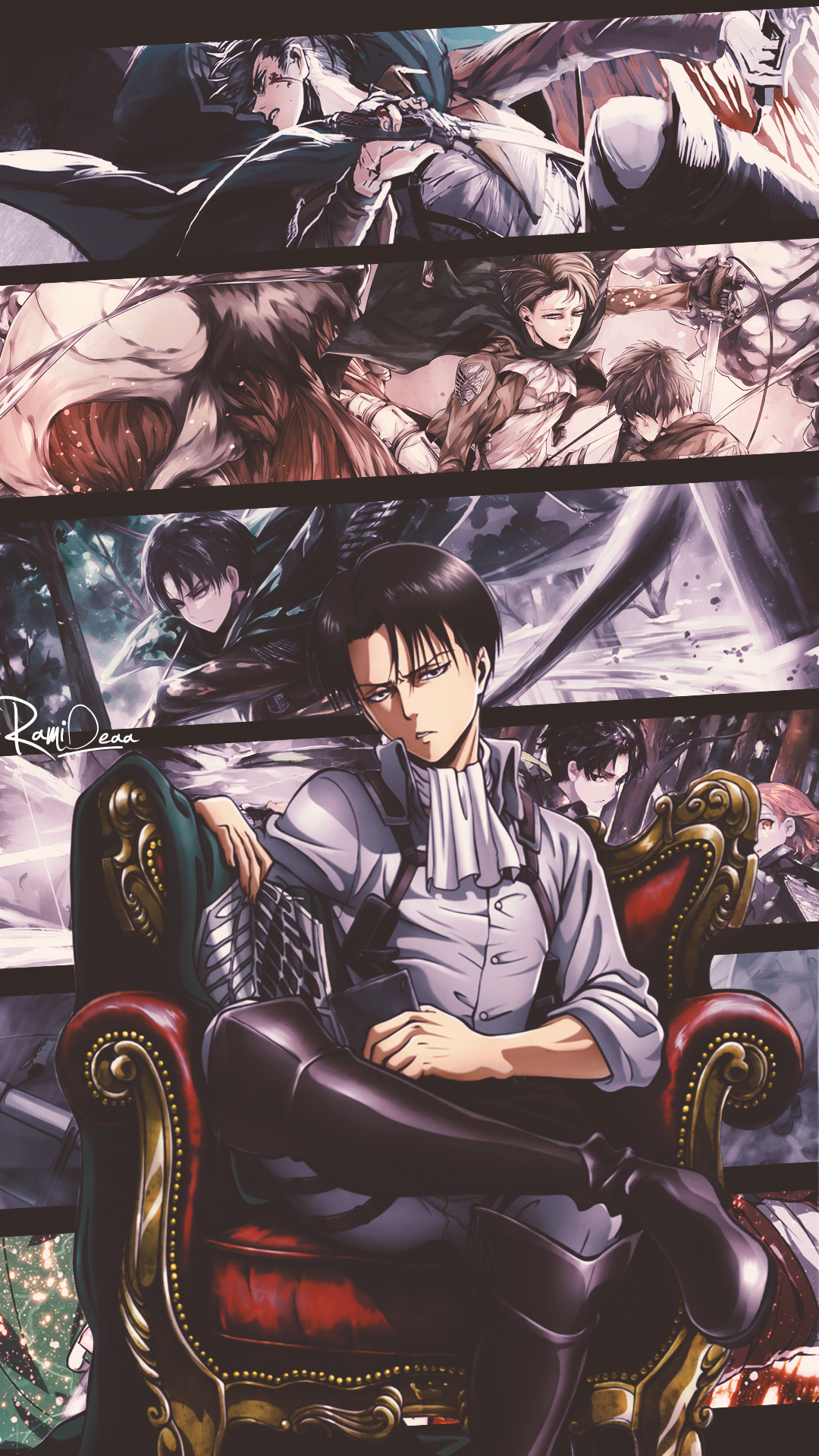 Levi Attack On Titan Requested By Diansteinway13fb Twitter Quotures List Attack On Titan Levi Anime Guys Anime