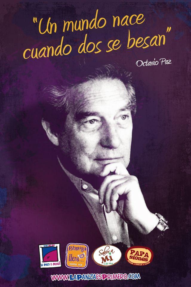 Octavio Paz Lozano fue un poeta, escritor, ensayista y diplomático mexicano, Premio Nobel de Literatura de 1990.