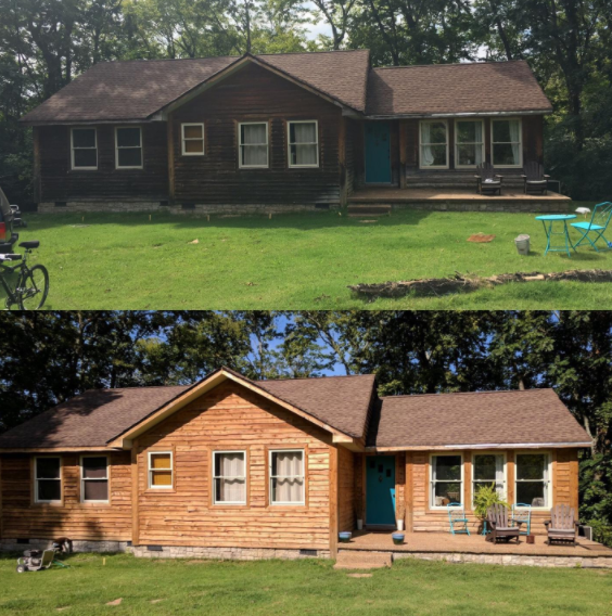 Pressure Washing House Siding Can Make Your House Or Cabin Look New Again You Just Have To Be Sure To Do Pressure Washing House Pressure Washing Clean Siding