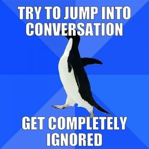 Homemadecosmetics Socially Awkward Penguin Socially Awkward Funny Memes