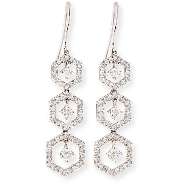 Turner & Tatler 14k Moonstone & Diamond Drop Earrings d5juR