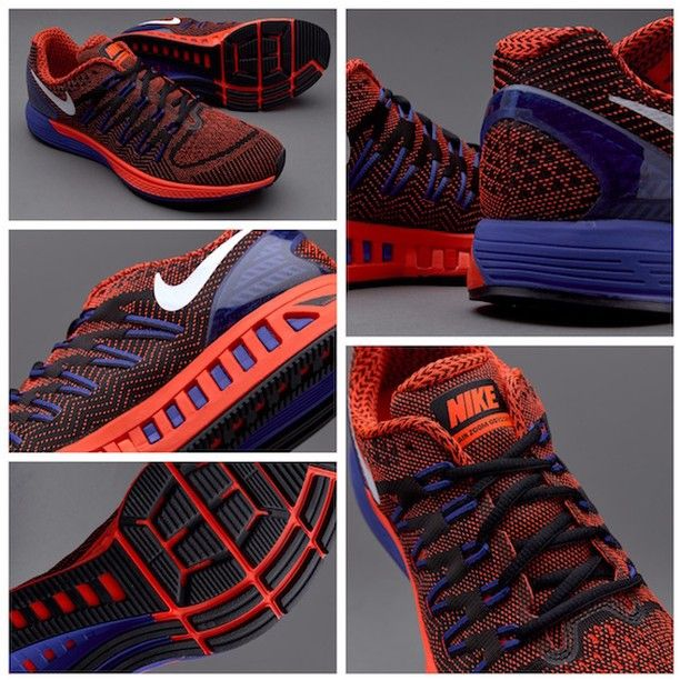 new product 567bc b8c98 Nike Air Zoom Odyssey - Black White-Total Crimson-Racer Blue قیمت بعد از  حراج  تومان کد محصول  استعلام موجودی و ثبت سفارش با کد محصول در تلگرام