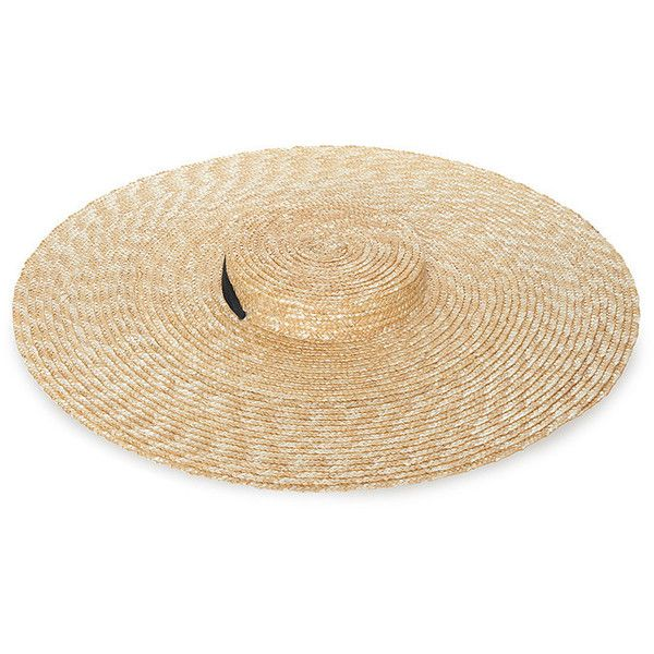055a2688c4a14 Jacquemus Santon Straw Hat ( 150) ❤ liked on Polyvore featuring  accessories