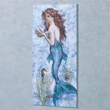 Underwater Beauty Mermaid Canvas Wall Art