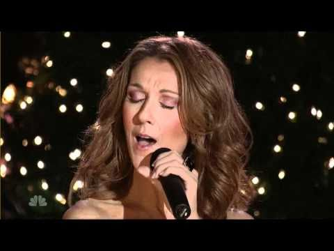 Celine Dion Christmas Songs Silent Night Youtube Christmas Music Videos Holiday Music Celine Dion Christmas