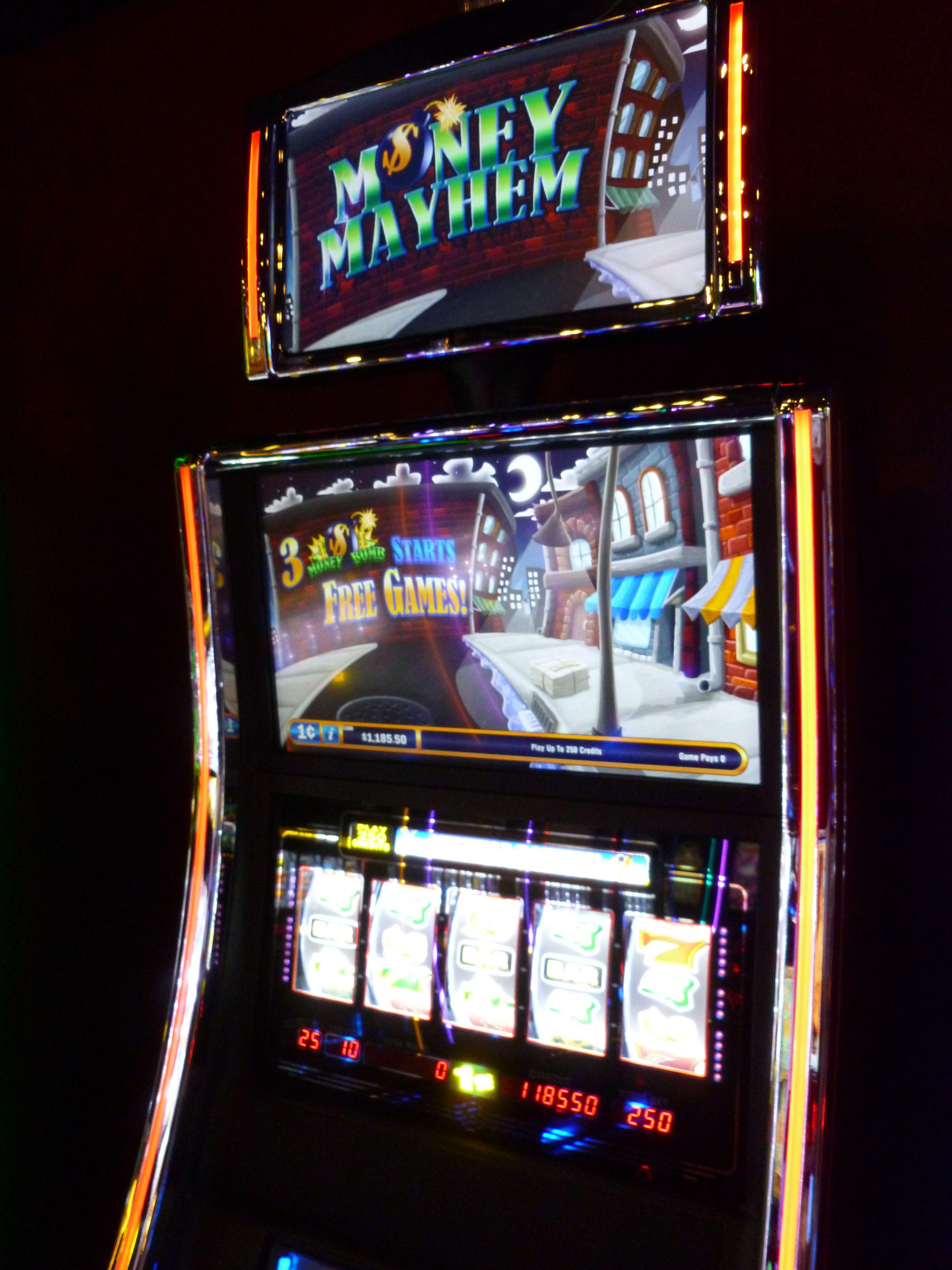 Money Mayhem Gaming products, Games, Pinball machine