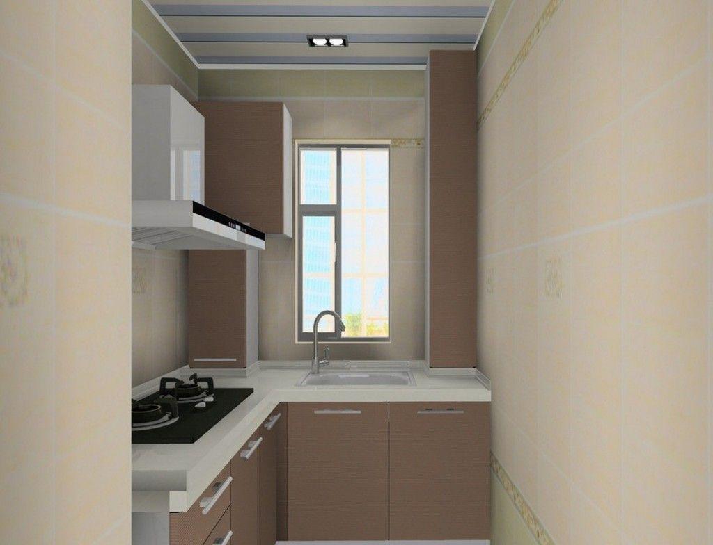 Cheap Minimalist Compact Kitchen Design For Small Room Interior