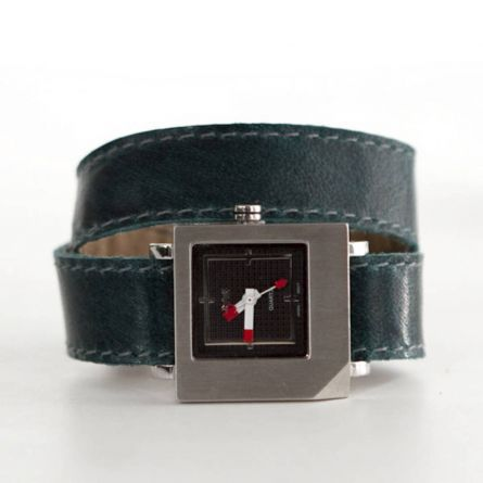 CUBE watch - example of black watchface only by Rimanchik $90