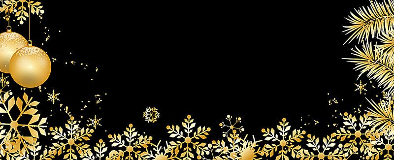 Background Black And Gold Christmas Decorations from i.pinimg.com