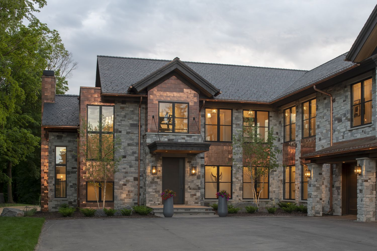 Hendel Homes Rustic Contemporary House Design House Styles
