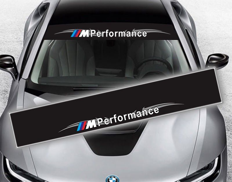 Discount Up To 50 Reflective M Performance Power Front Rear Windshield Window Decal Stickers For Bmw F10 F20 F30 M3 M5 E46 E60 E3 Window Decals Bmw Reflective