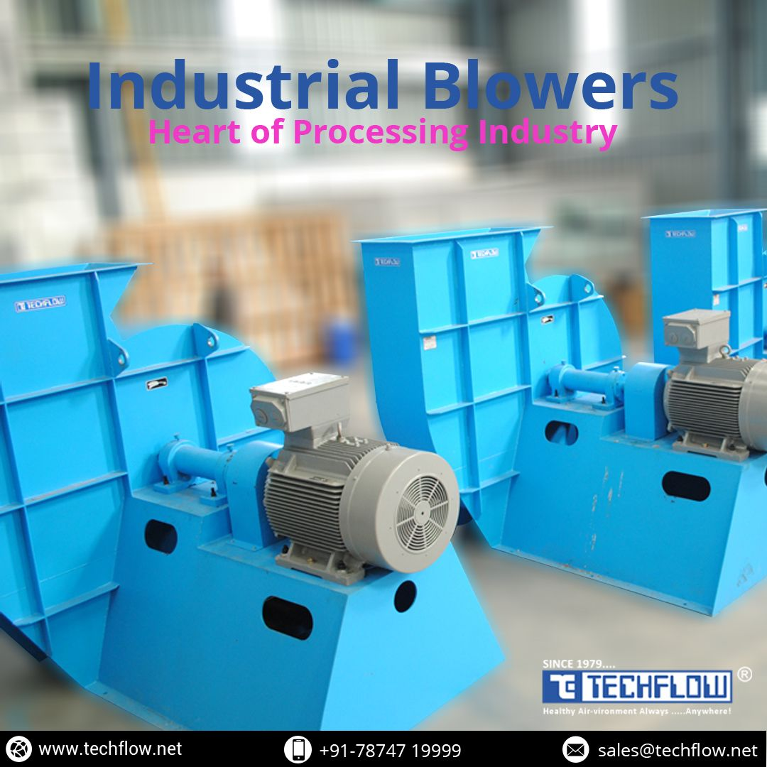 IndustrialBlowers are used to reduce the air pollution