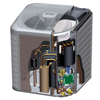 Carrier Infinity 25vna0 Inverter Heat Pump Unsure If Dual Fuel Seems To Be A Better Deal Than Many Other Bran Heat Pump Carrier Heat Pump Hvac Training