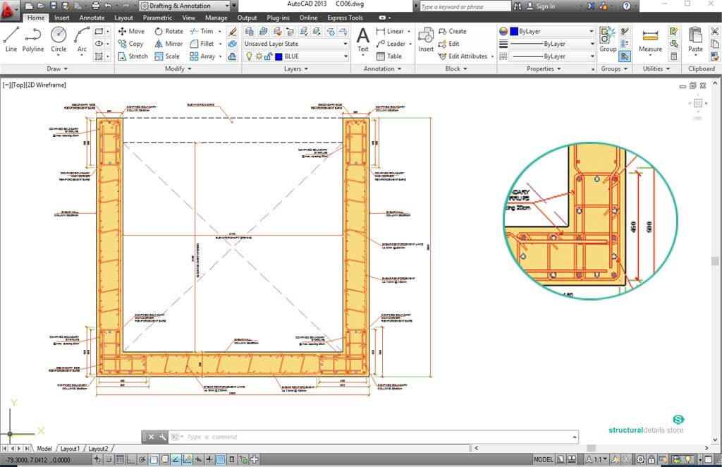 concrete pitched roof slab edge gutter detail in 2020 on types of structural walls id=30565