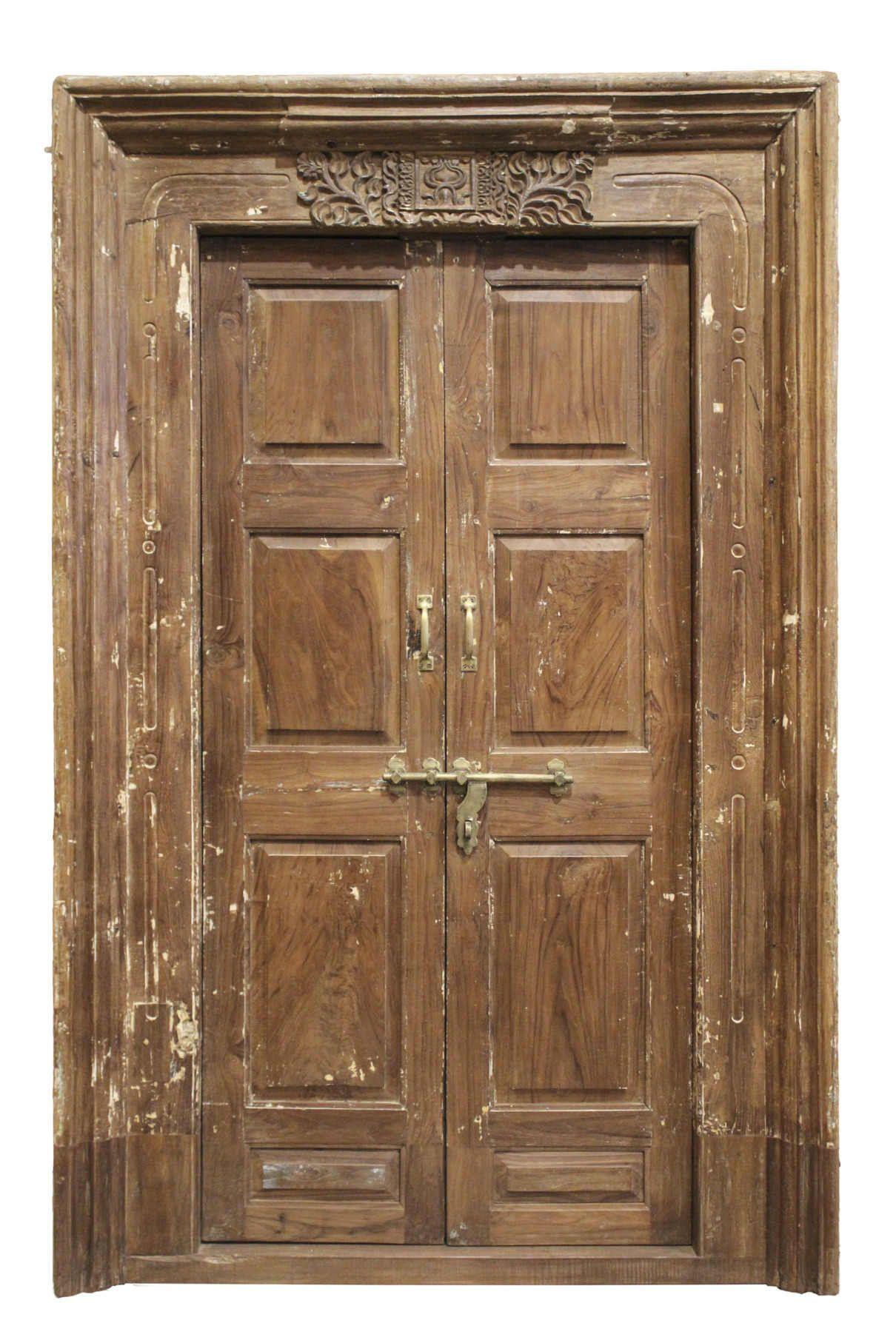 Puertas de madera antiguas interior y exterior puertas antiguas puertas puertas de madera - Puertas forja exterior ...