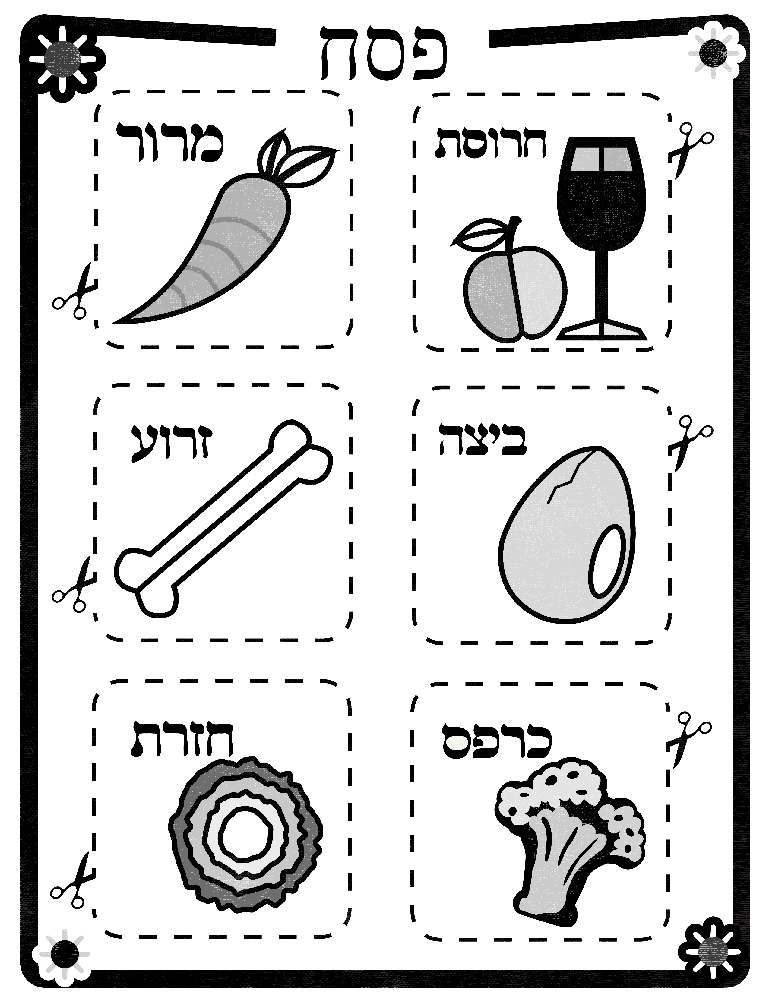 Our Diy Seder Plate Is Easy And Fun And Can Be Saved And