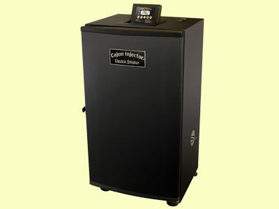 Cajun Injector Electric Smoker 22174 01939 By Bruce Foods