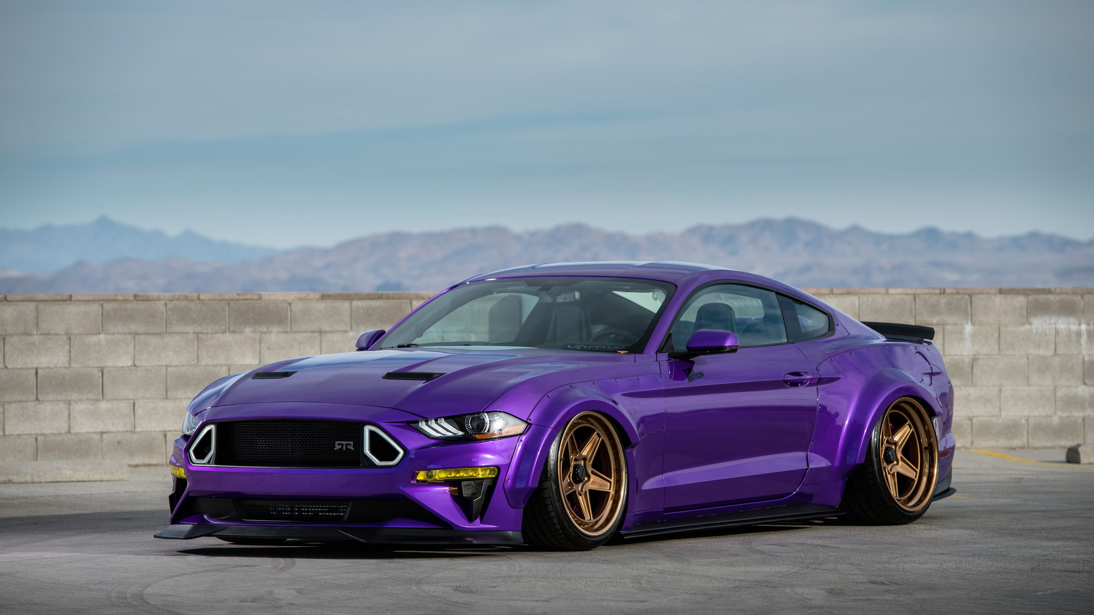 Tjin Edition Ford Mustang Ecoboost 4k Wallpaper Mustang Wallpapers