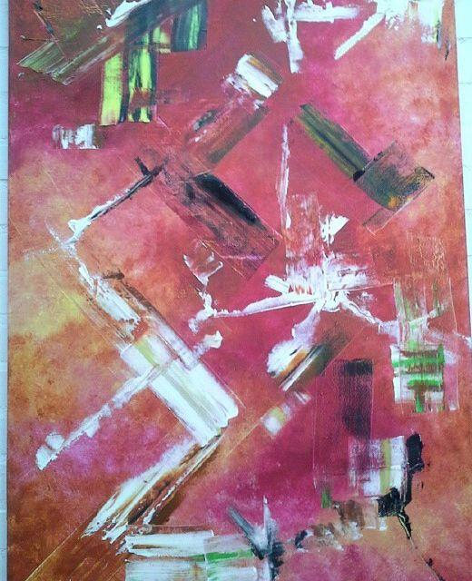Germán Eduardo Londoño Óleo abstracto Original