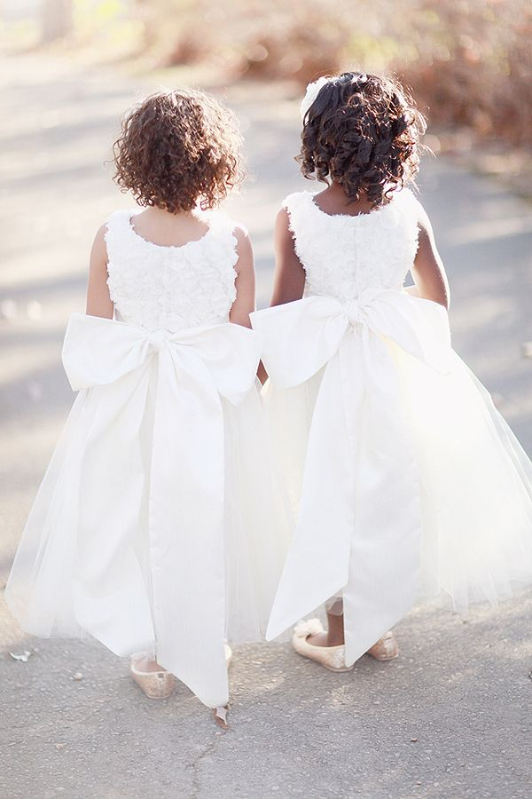 c595024ef Red and Grey Outdoor Wedding in Alabama | Flower Girls & Ring ...