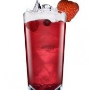 Red Kiss 2 Medidas De Vodka Absolut Raspberri 2 Medidas De Jugo De