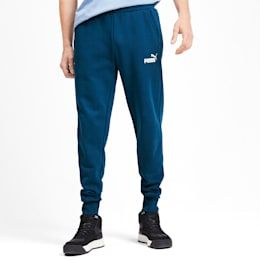 PUMA Essentials Fleece Men's Sweatpants in Gibraltar Sea size 2X Large #sweatpantsoutfit