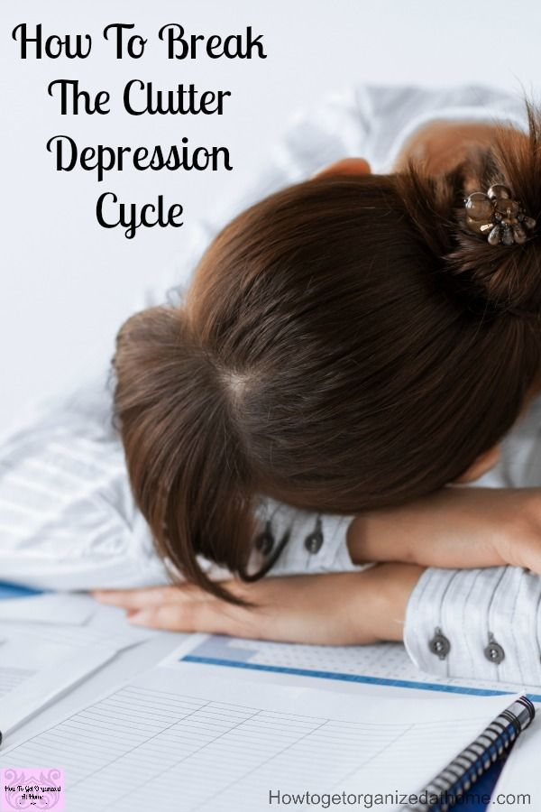 Are you trying to get organized but you have too much to get rid off! Are you battling with depression? Find the motivation you need to get your home back in order! Don't let the depression and anxiety win!