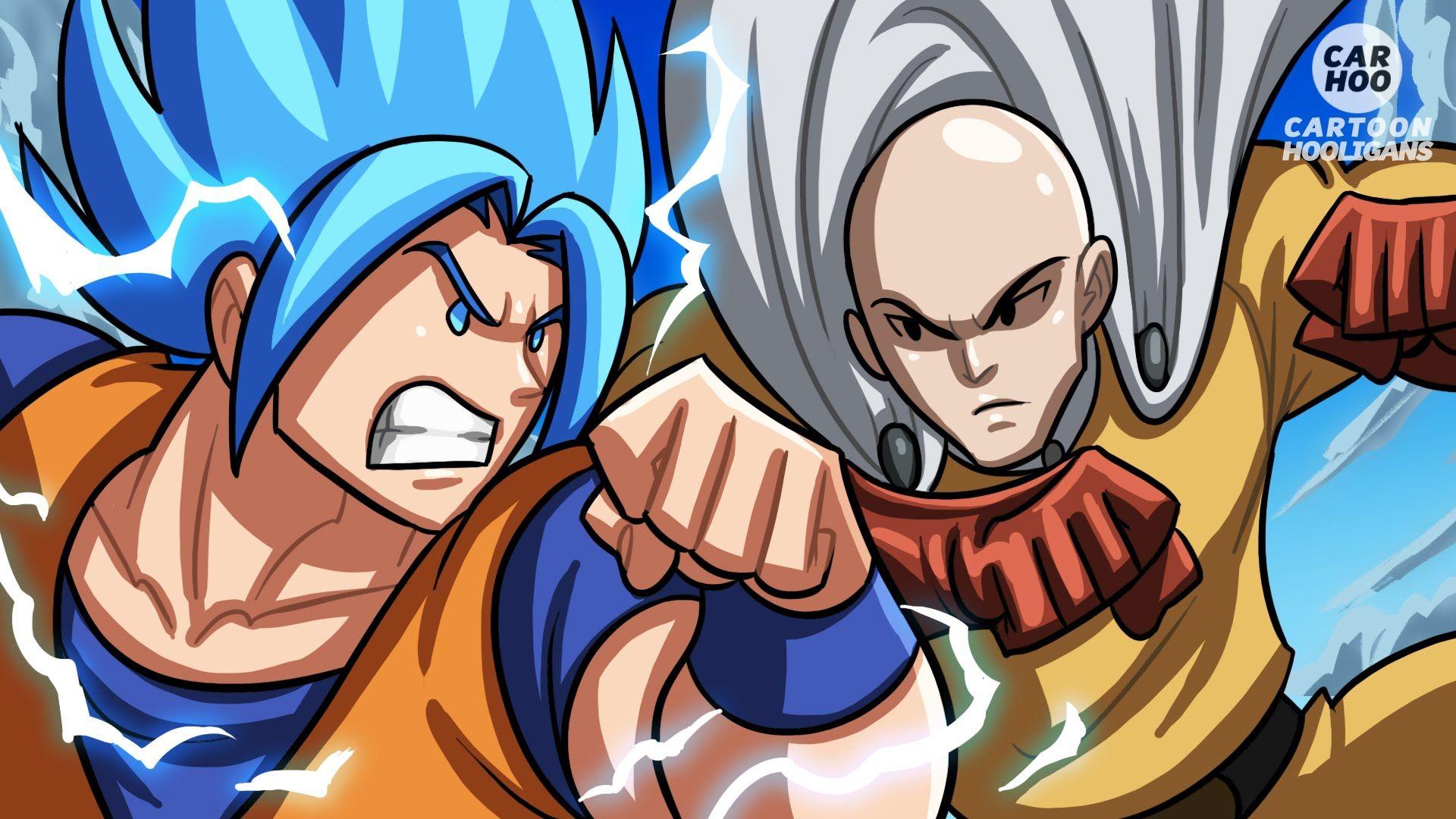 Goku Vs Saitama What If Battle [ OPM/ DBZ Parody ] (With