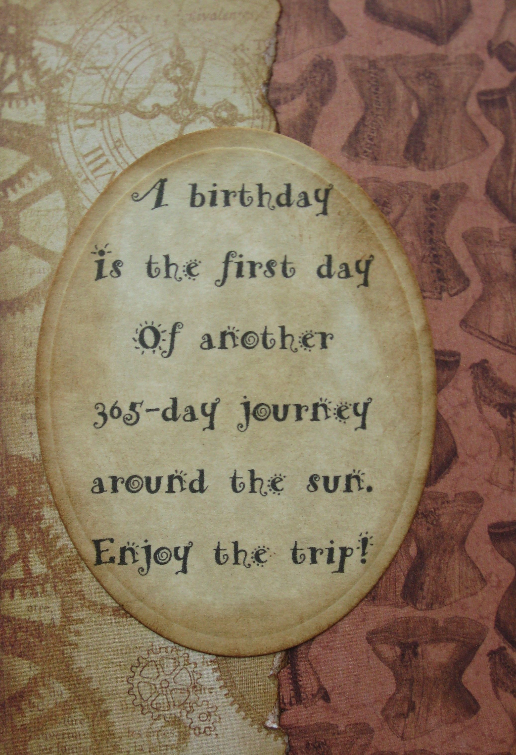 Steampunk Birthday Card Graphic 45 Steampunk Debutante Kathy By Design Birthday Cards Cards Inspirational Cards