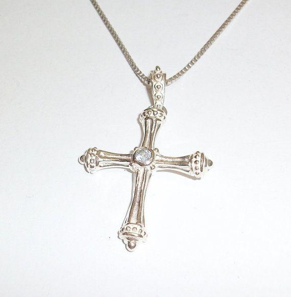 Anhänger Halskettenanhänger alter Kreuzanhänger von Schmuckbaron