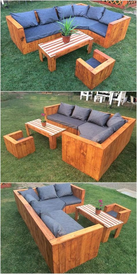 Grab Up This Image That Is Giving You The Complete Outlook Impact Of The Design Of Wood Pallet Pallet Furniture Outdoor Pallet Patio Furniture Diy Pallet Couch