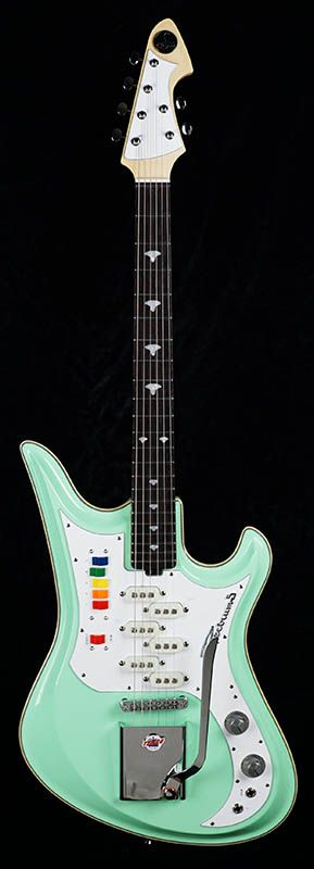 teisco ikebe original spectrum 5 surf green terrific tiescos guitar vintage guitars. Black Bedroom Furniture Sets. Home Design Ideas
