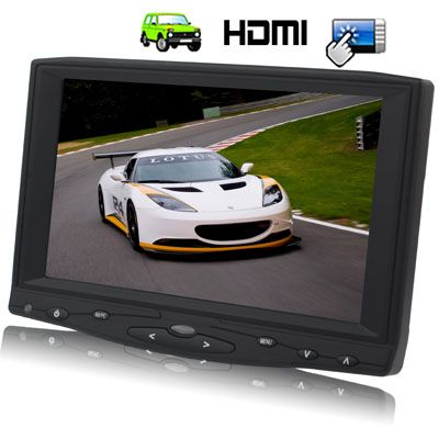 Usd142 28 Eur129 10 Gbp100 99 7 Inch Hd Touch Screen Car Monitor With Remote Control Hdmi Av Vga In Car Remote Monitor Touch