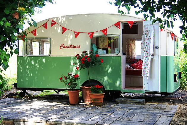 Image detail for -... Vintage: Vintage Mobile Home Mondays - Constance 1956 Vintage Caravan