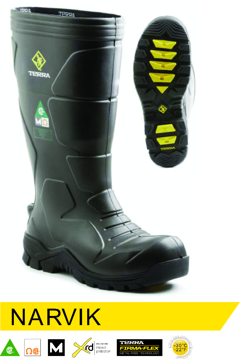 Terra narvik internal metatarsal guard safety boot Boots