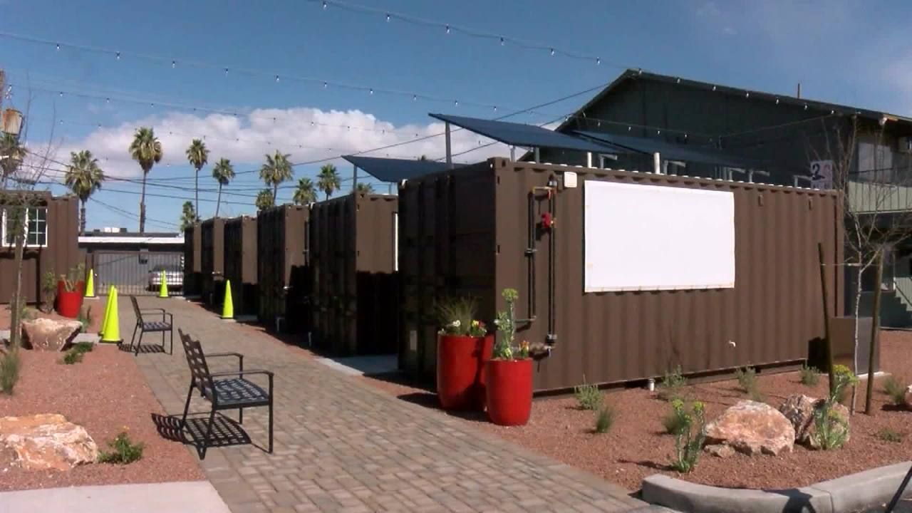 The Smaller Containers Are About 1 300 Square Feet And Cost Approximately 27 000 To Renovat In 2020 Homes For Veterans Shipping Container Shipping Containers For Sale