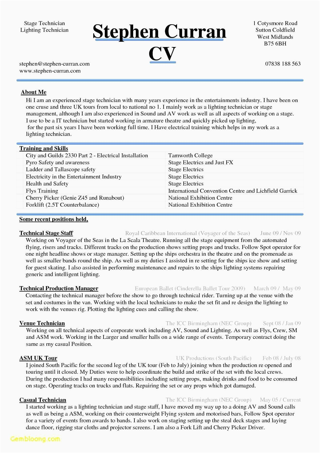 acting resume template for microsoft word luxury download sample of cv masters application warehouse supervisor objective