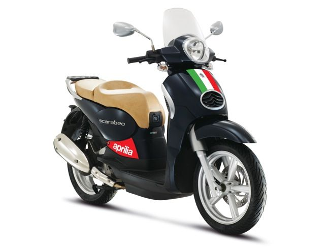 New Blue Aprilia Scarabeo 200 | Scooter News and Reviews ...