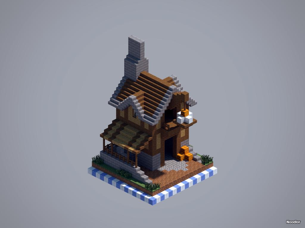 Npc village buildings by coltcoyote on deviantart apps directories - Medieval Workshop