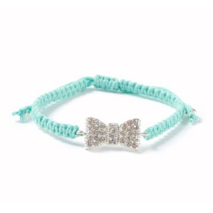 Macramé Crystal Bowtie Bracelet, I love it!