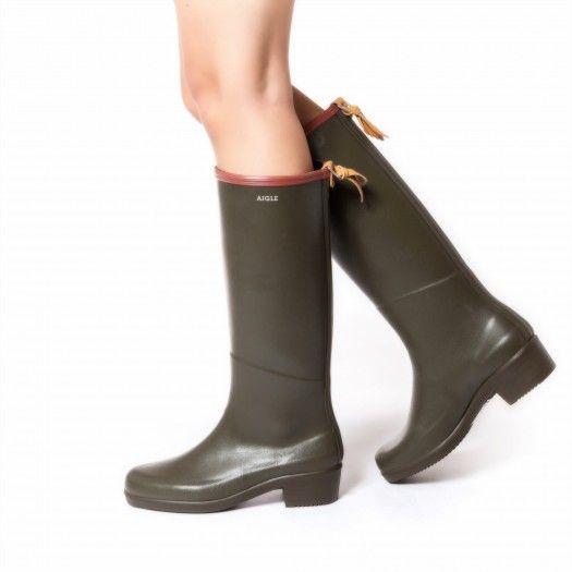 Boots WOMAN KAKI/BRIQUE MISS JULIETTE - AIGLE