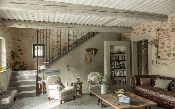 natursteinwand im wohnzimmer die natur zu hause empfangen treppenideen wohnzimmer. Black Bedroom Furniture Sets. Home Design Ideas