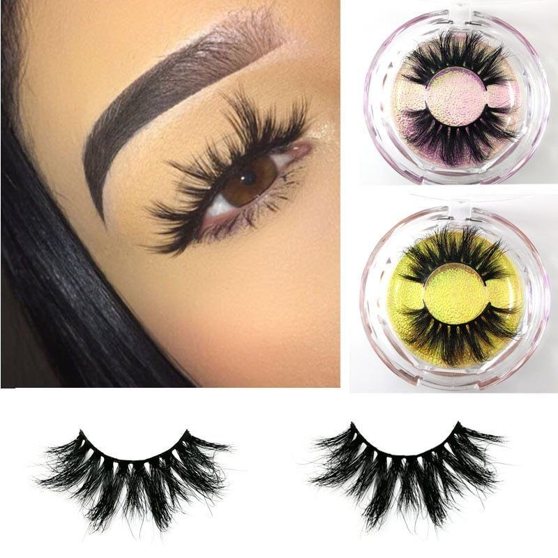 e113b706eb3 Mikiwi 25mm Long 3d Mink Lashes Extra Length Mink Eyelashes Big Dramatic  25mm Mi #Kitsakorn
