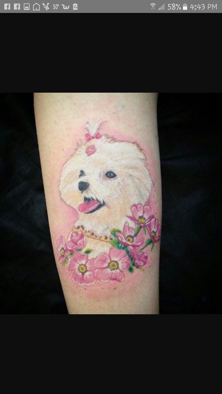 Pin By Dawn Rodriguez On Holly Tattoos Dog Tattoo Tattoos Body Art
