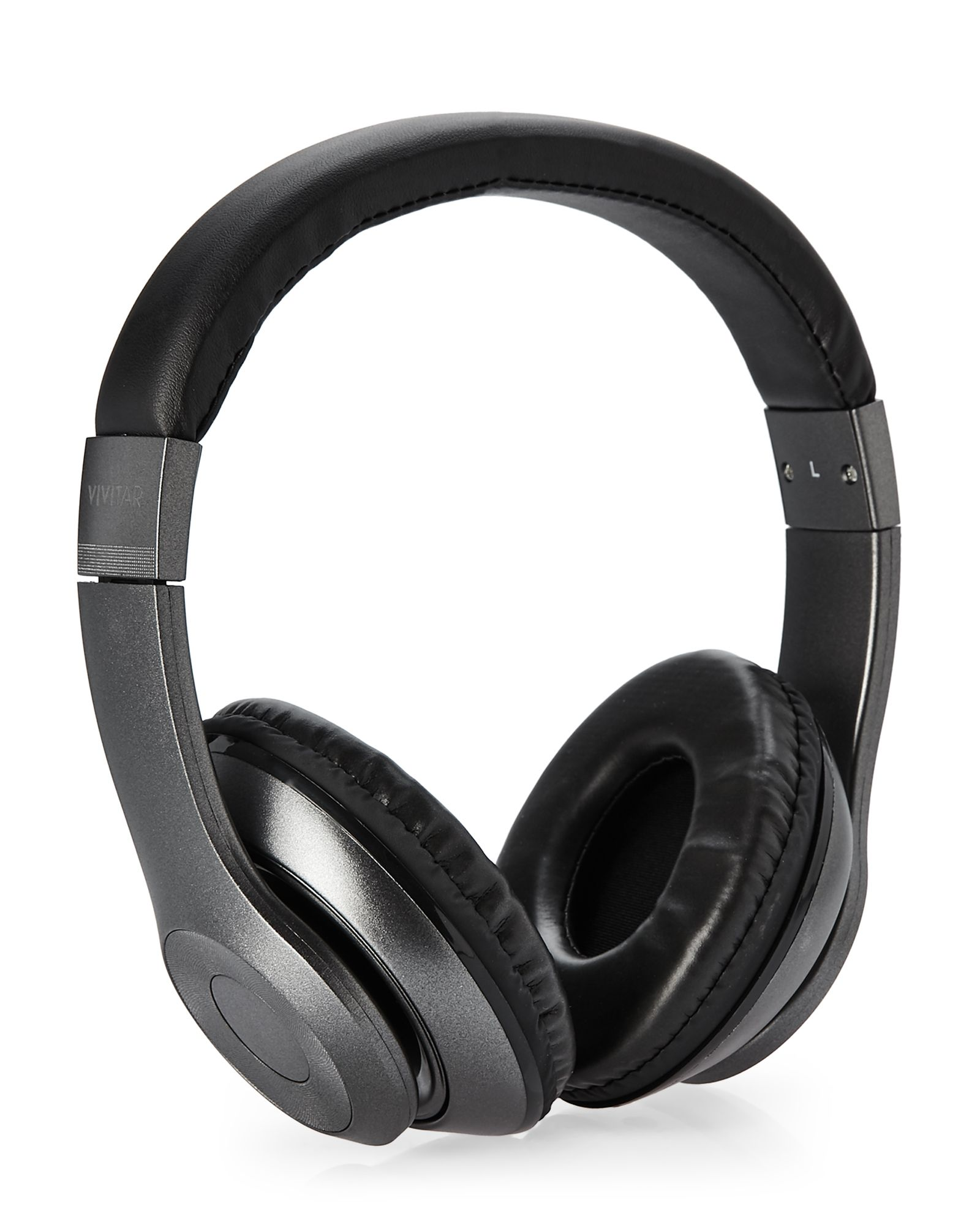 Black listen up stereo headphones stereo headphones