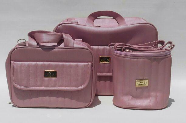 468c7c832 Resultado de imagem para bolsas maternidade rosa goiaba
