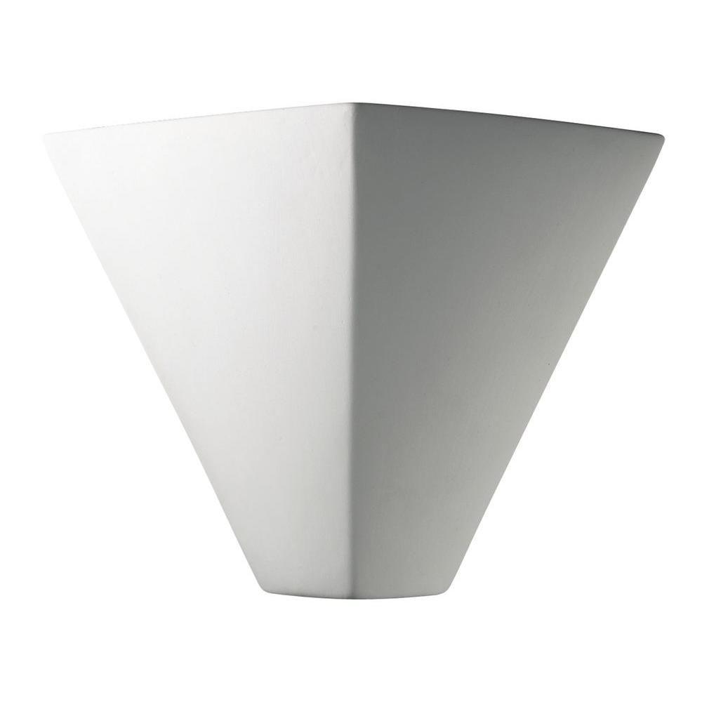 Filament Design Leonidas 1 Light Paintable Ceramic Bisque