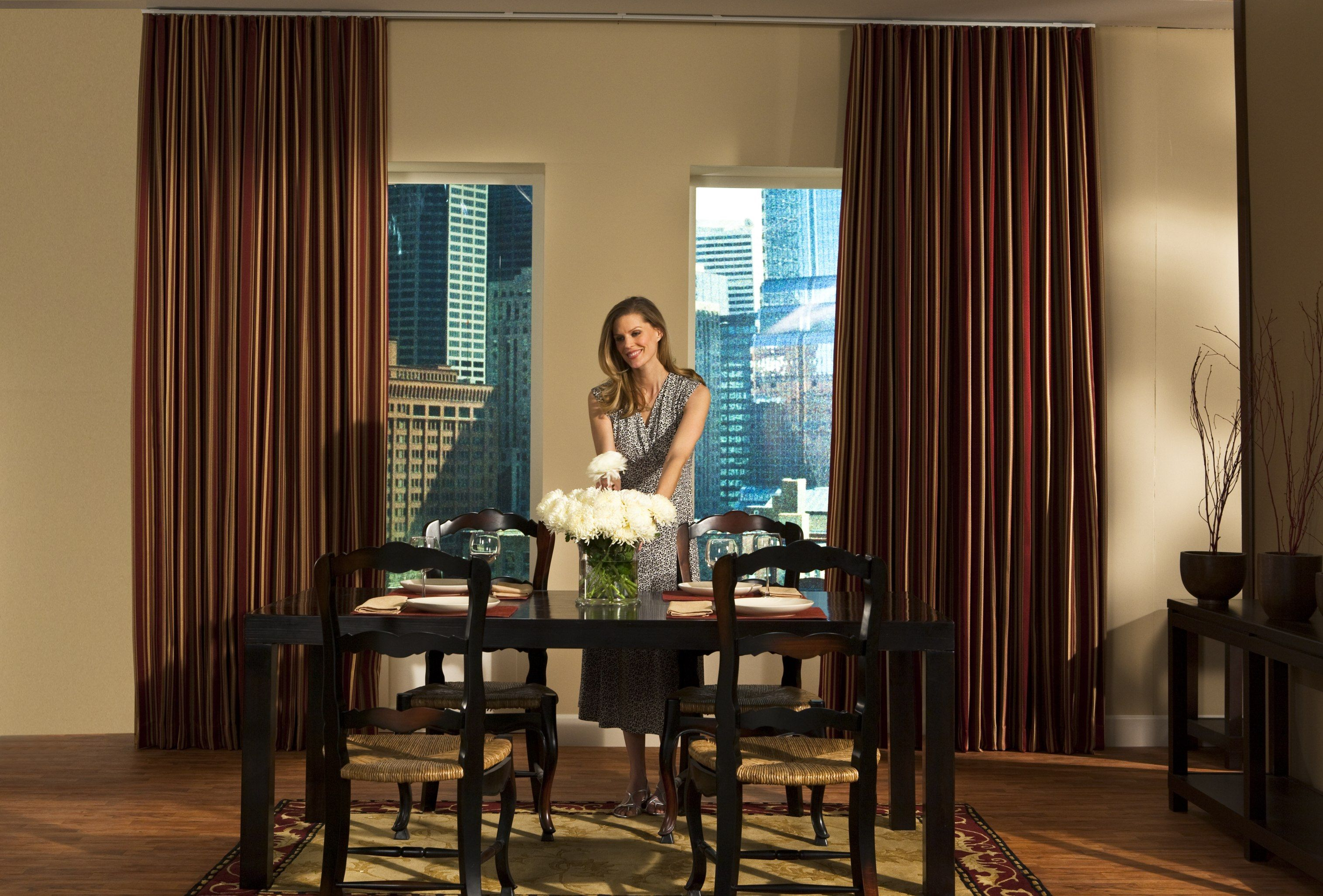 for bedroom   Small window curtains, Dining room design modern ...